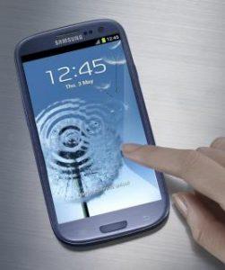 Terza immagine del nuovo smartphone della Samsung