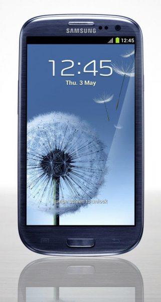 Quarta immagine del nuovo Samsung Galaxy SIII