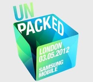 Presentazione Samsung Galaxy S3 Logo