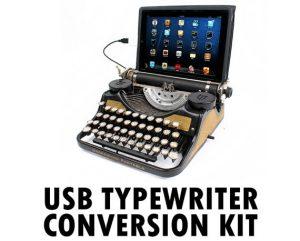 Macchina da scrivere USB con Ipad