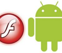 Flash e Android Logo
