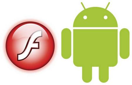 Flash e Android Logo