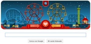 Google doodle di san valentino