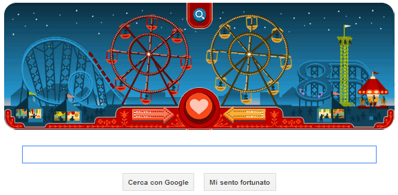Google Doodle Sanvalentino