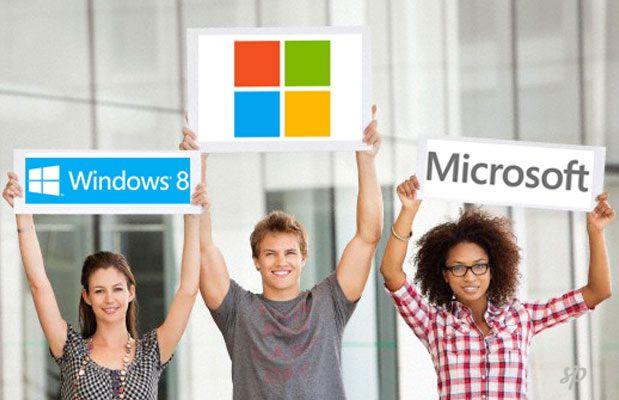 Microsoft Windows 8 Advertising 240657