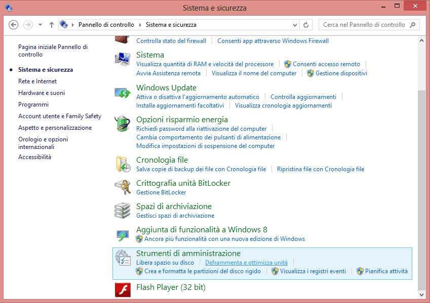 Deframmentare Windows 8