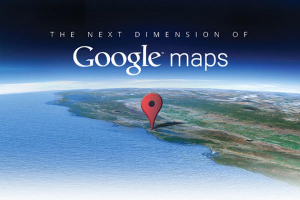 Google Maps 3d Next Dimension