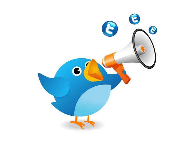 Twitter Logo Hashtag