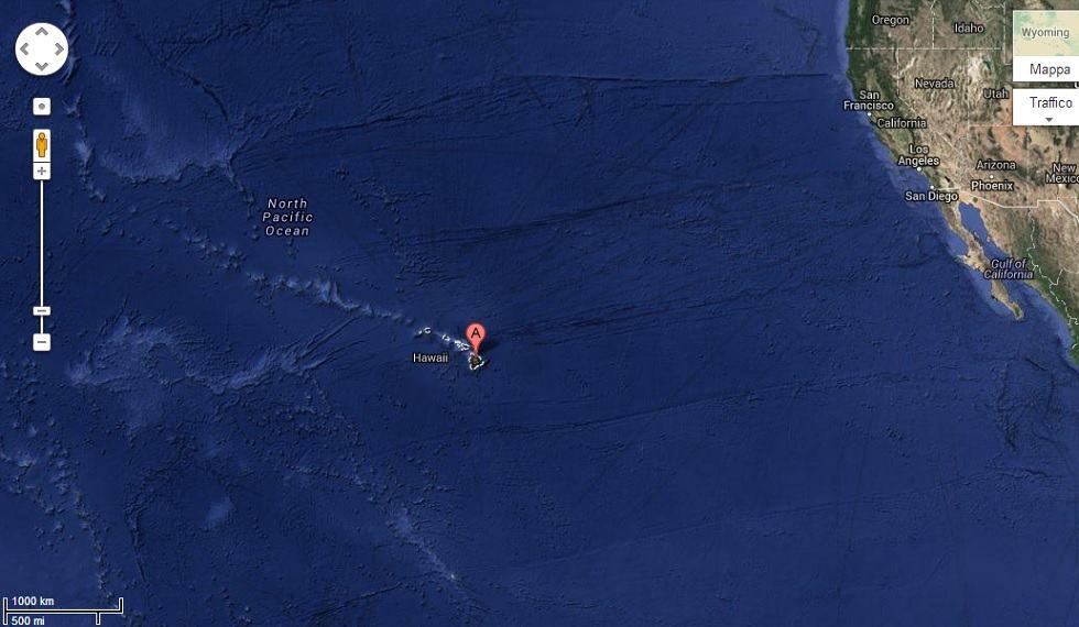 Hawaii Google Street View