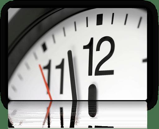 Time Management Clock Thumb